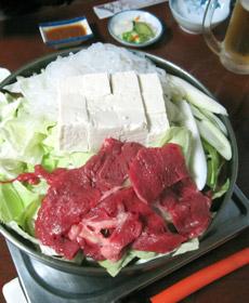 桜鍋(上肉鍋)