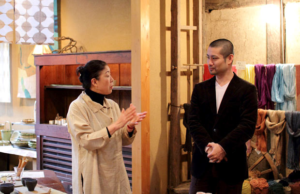 加納容子さんと山崎亮さん
