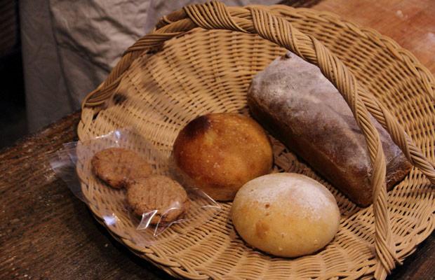 「パン屋タルマーリー」のパン
