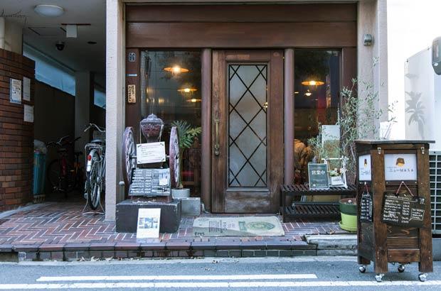 中崎昭和喫茶「ニューMASA」外観