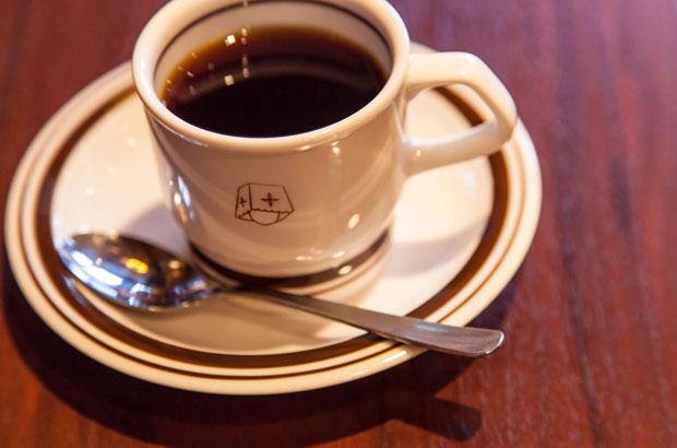 中崎昭和喫茶「ニューMASA」のコーヒー
