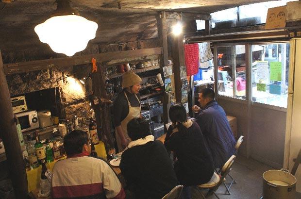 「六甲山カフェ」の店内風景