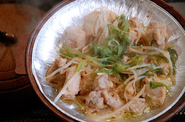 明宝地区の名物料理「鶏ちゃん」