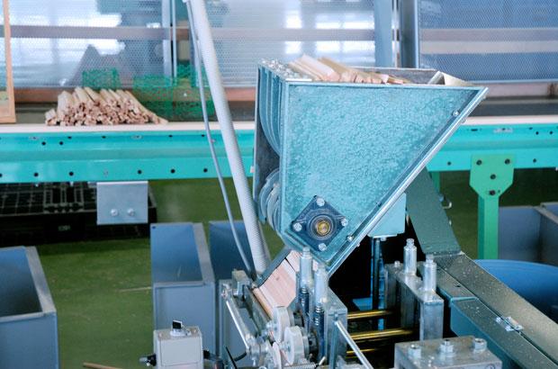 割り箸の製造工程