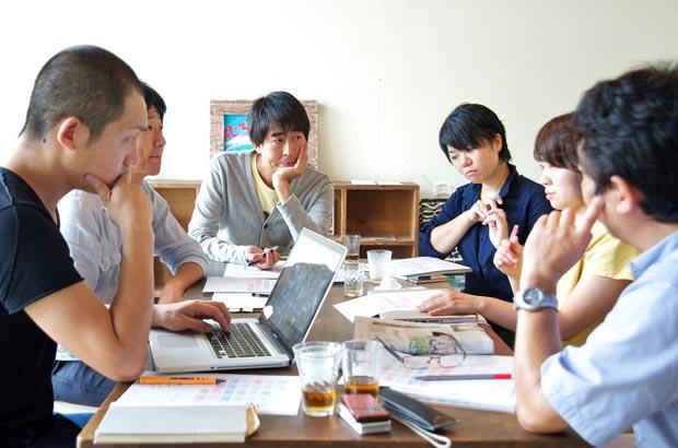 『のんびり』の編集会議