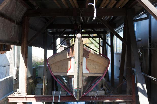 夏祭りのための和舟「櫂伝馬(かいでんま)」