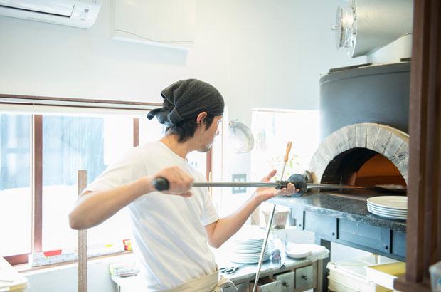 薪窯のピッツェリア「TIKU - 」