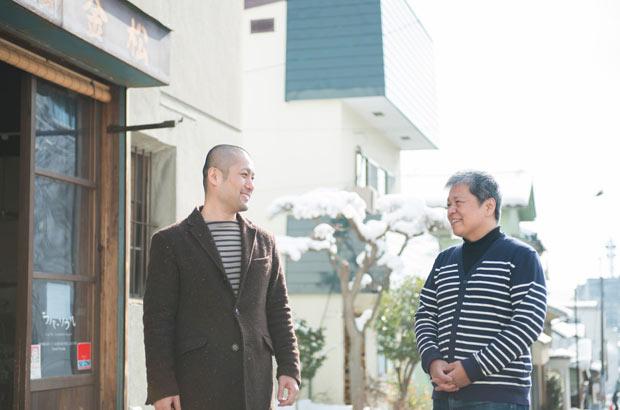 山崎亮さんと広瀬毅さん