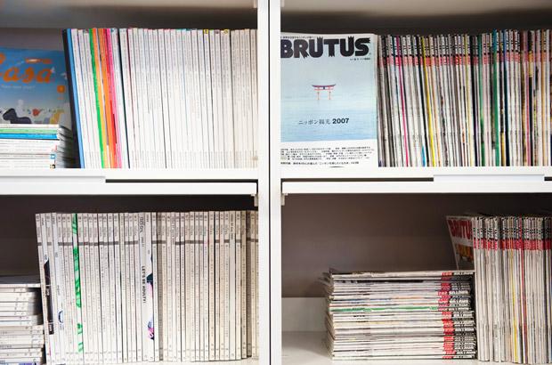 閲覧可能な数々の雑誌