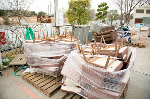 ナカダイの工場に運び込まれた「ゴミ」