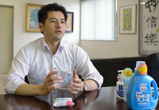 森田隼人社長