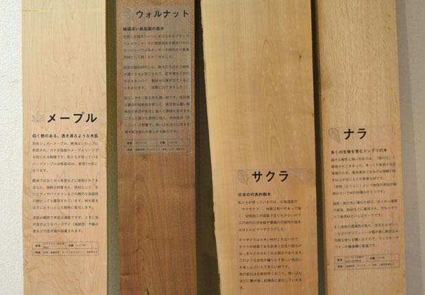 4種の木材