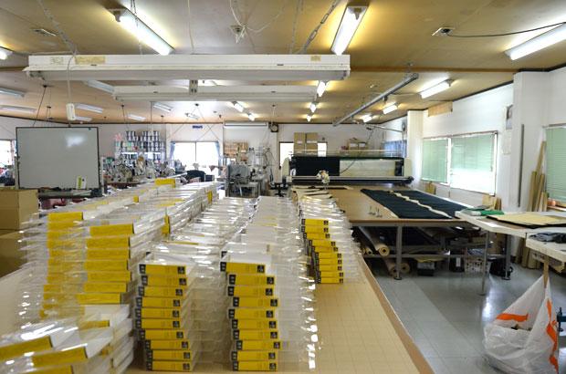 包帯パンツの工場