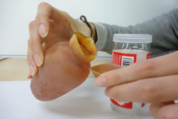 容器にもおつまみにもなる、 日本のクラフトマンシップ! いかで作った「いか徳利」
