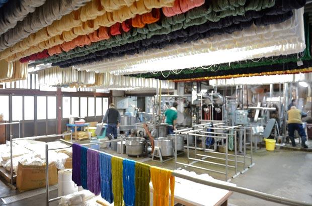 西陣の染織工房