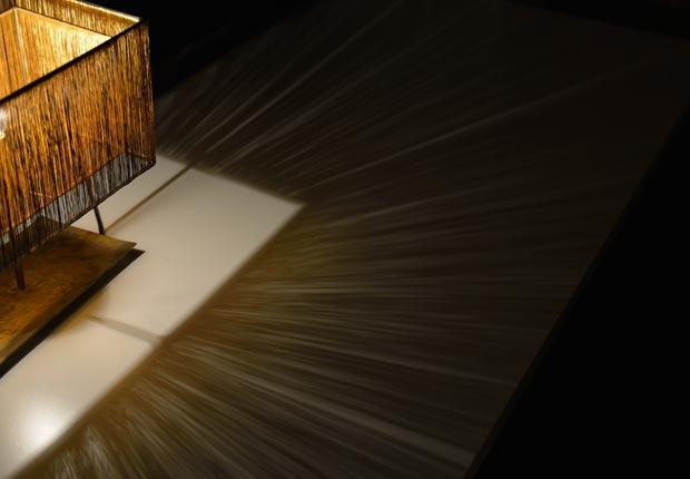 「十六夜」の明かり