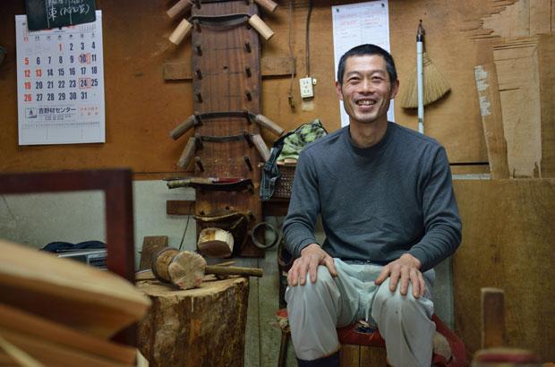 樽丸職人、大口孝次さん