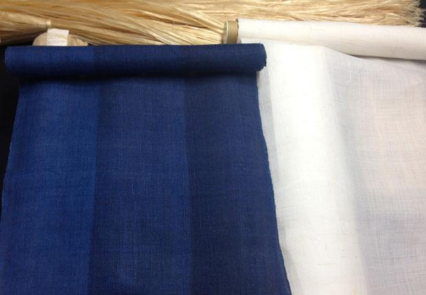 奈良晒の麻布