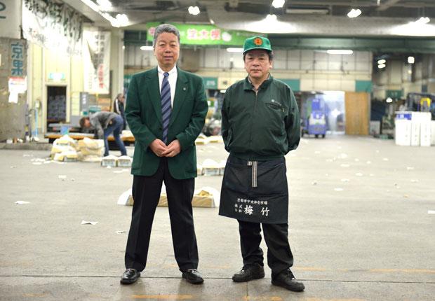 湊二郎さんと猪阪久夫さん