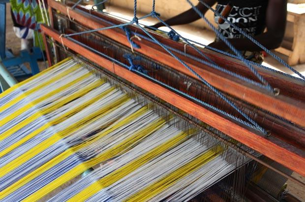 ブルキナファソの織機
