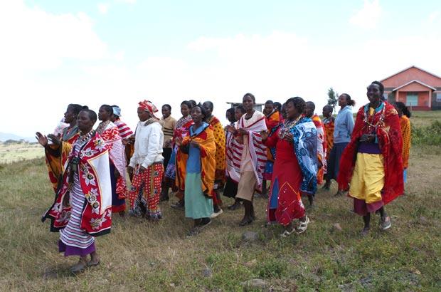 マサイの女性たち