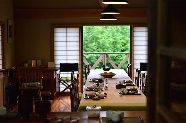 地蔵原ヴィレッジの食堂