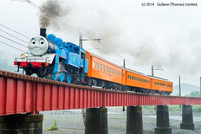 リアルな「きかんしゃトーマス」が静岡を走る!大井川鐵道で往復運行&トーマスフェア開催中