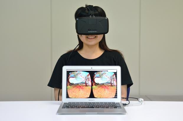 VRヘッドセットOculusRift(オキュラスリフト)