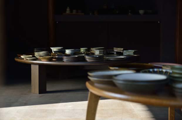 樂久登窯の器たち