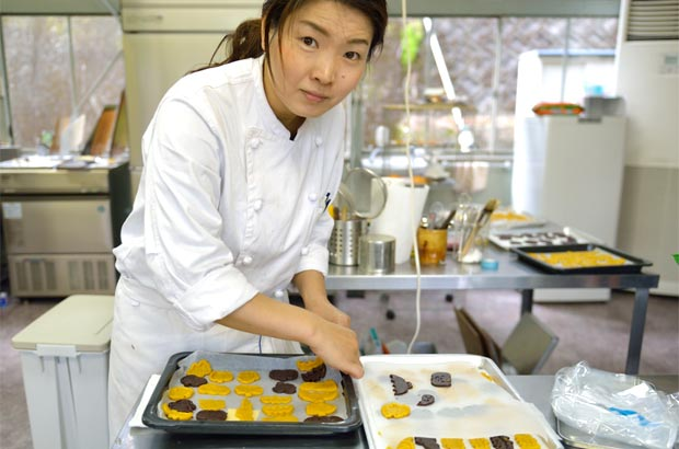 お菓子職人、植本綾子さん