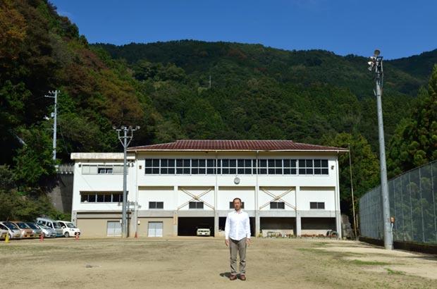 旧出合小学校の校庭