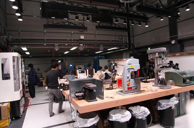 「Studio」の共有スペース