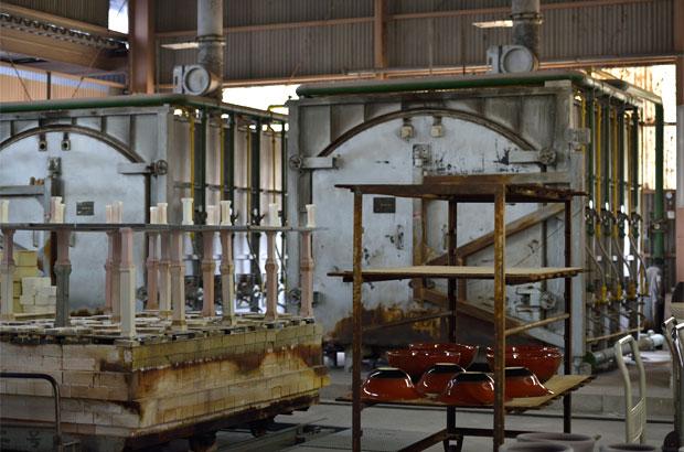 丸滋製陶の大きな窯