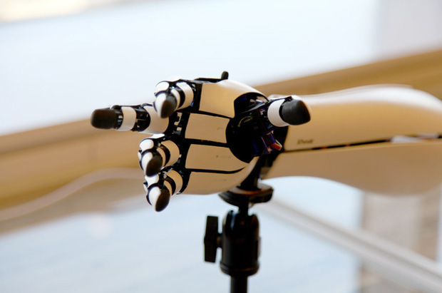 3Dプリンターで作られた義手