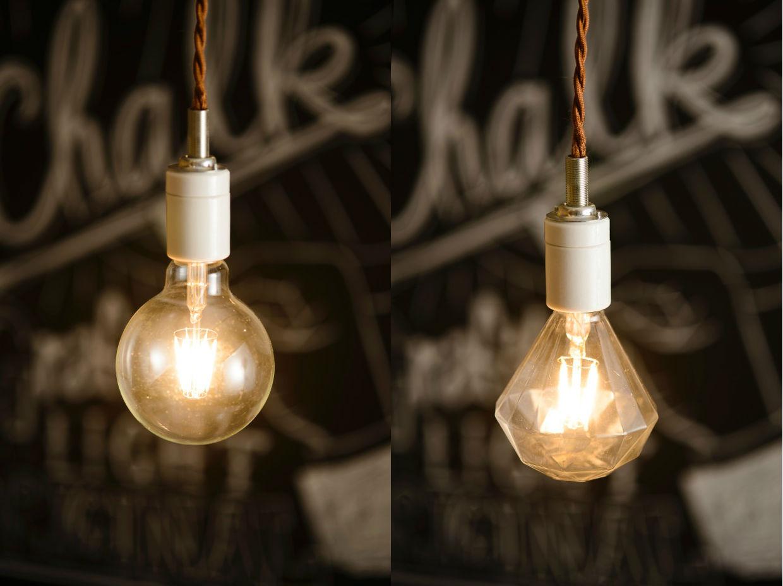 LED電球〈LED SWAN BULB〉 白熱灯のようなデザインと温かみのある光が実現!