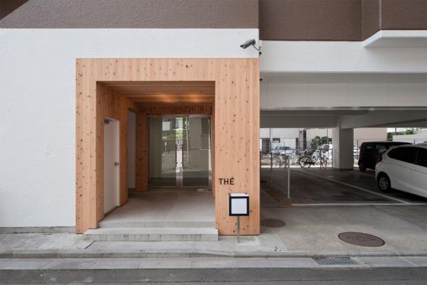 リノベ施設〈THE 6〉 築36年の集合住宅を シェア型複合施設に!