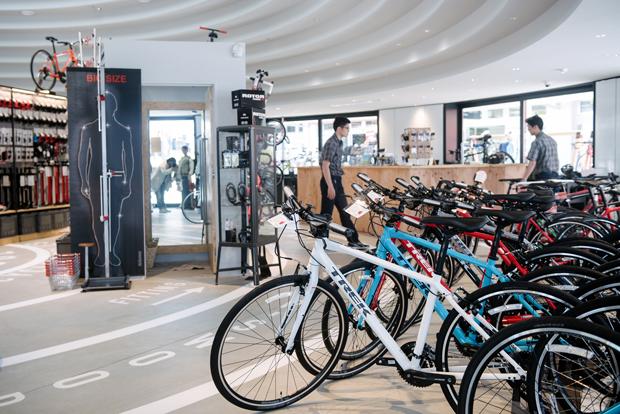 レンタルできる自転車