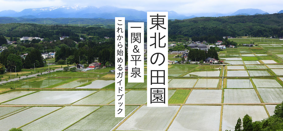 特集:東北の田園 一関&平泉 これから始めるガイドブック