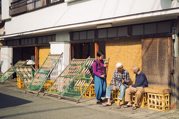 下田のひもの横町