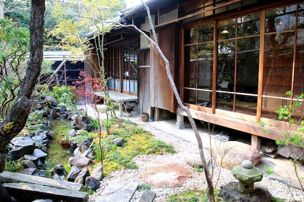 酒宴〈菜乃庵 nanoan〉の中庭