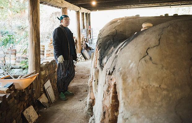 登り窯は陶芸の文化をつなぐ大切な存在。