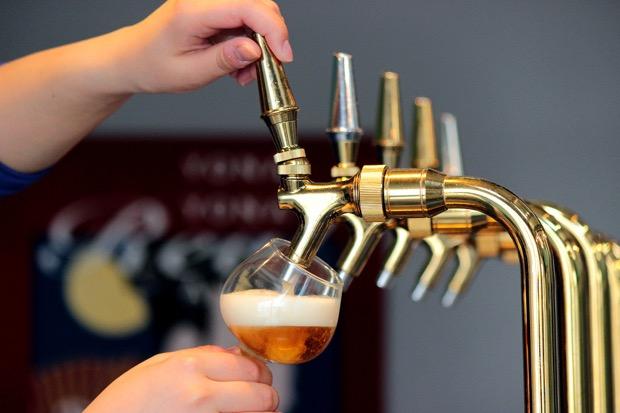 5種類以上のビールを本格テイスティング