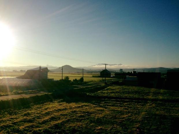 上川郡当麻町の風景