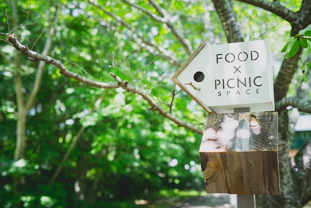 FOOD×PICNIC SPACE 看板