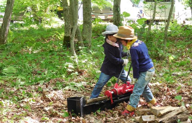 お子さん向けでさまざまな自然体験ができるワークショップ〈イコロの森のようちえん〉