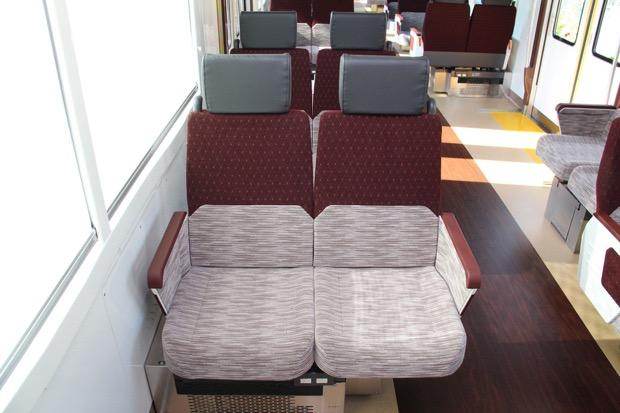 京王線の座席シート
