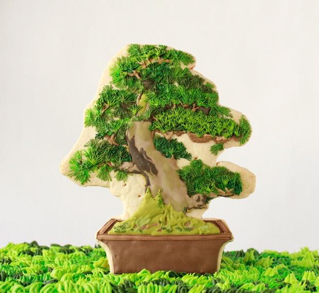盆栽クッキー(大)14,040円~ ※写真はイメージです。実際の商品とはデザインが異なる場合があります