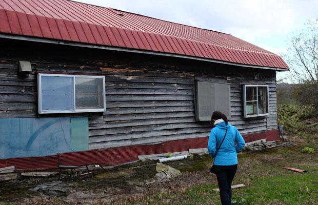 わたしの住む美流渡地区は、もと炭鉱街。炭鉱住宅という長屋がいまも残されている。その多くは空き家となっている。
