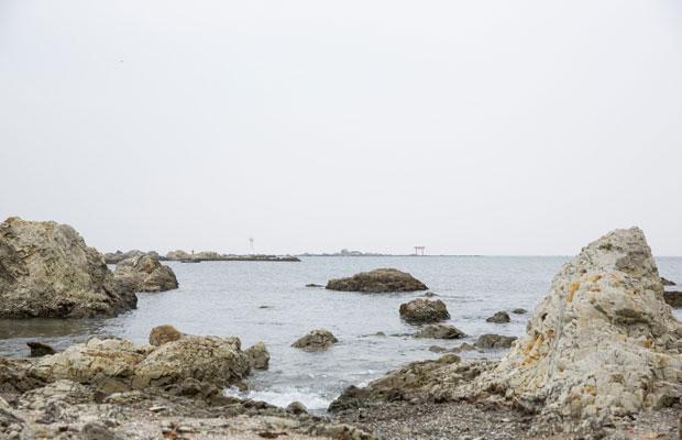 近くには森戸神社や森戸海岸がある。