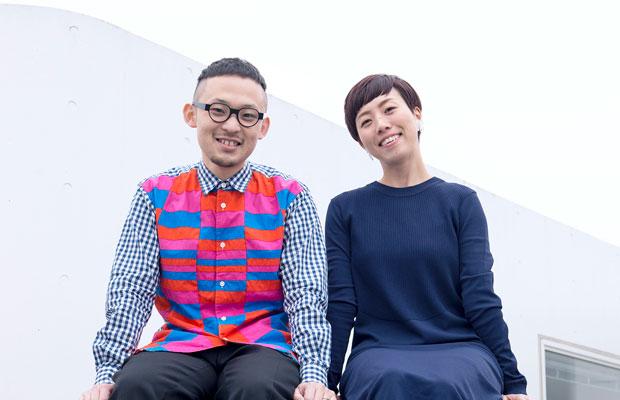 〈minna〉の長谷川哲士さん(左)と角田真祐子さん(右)。(写真提供:minna)